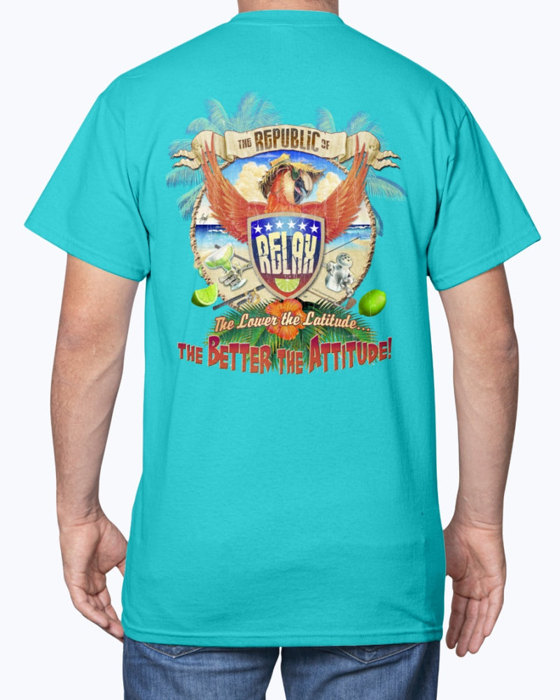 Republic of Relax Parrot T-shirt