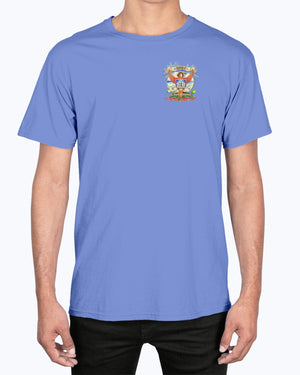 Republic of Relax Premium Soft Washed 6.1 oz Parrot T-shirt