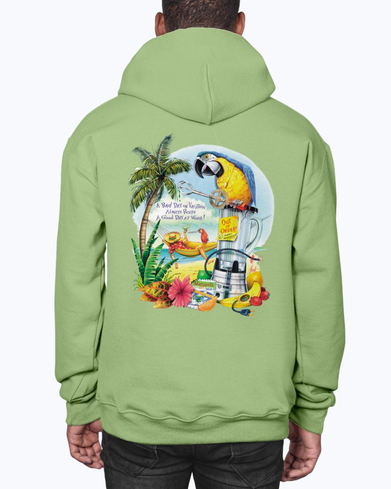 Bad Day on Vacation Always Beats a Good Day at Work Hoodie Pullover Sweatshirt