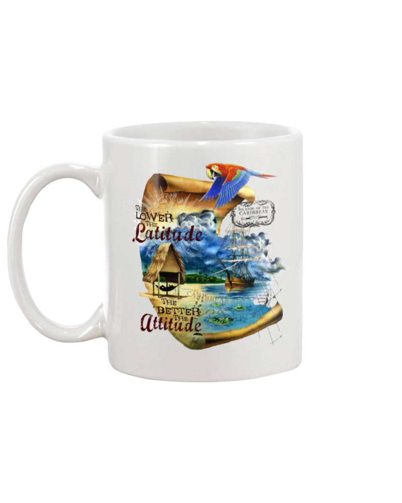 Changes in Latitudes Attitudes Coffee Mug