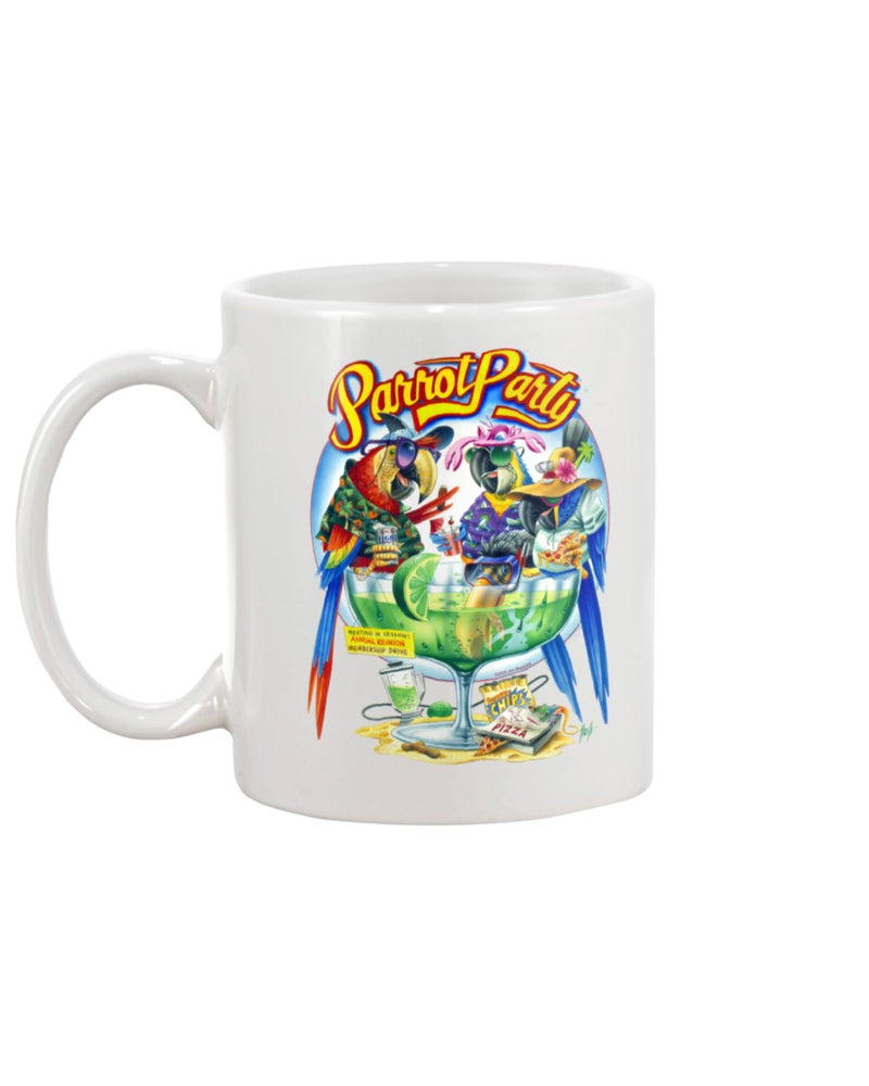Parrot Party Margarita 15 Ounce Coffee Mug