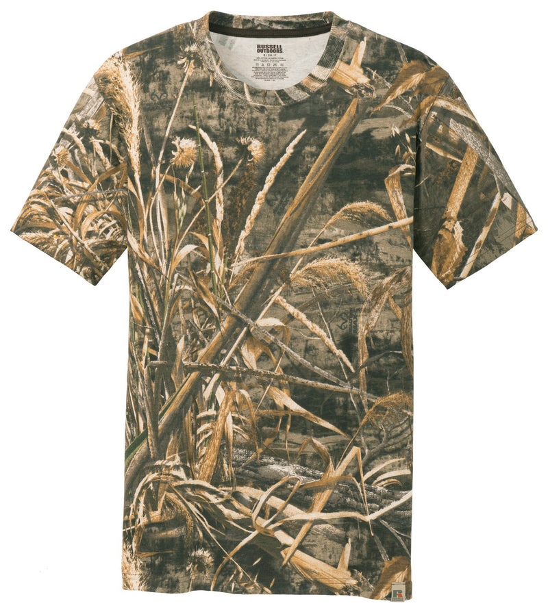 Mens RealTree Cotton Camo Tee Shirt