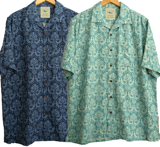 Two Shirt Special - 100% Silk Polynesian Style Hawaiian Camp Shirts - Good Life Apparel