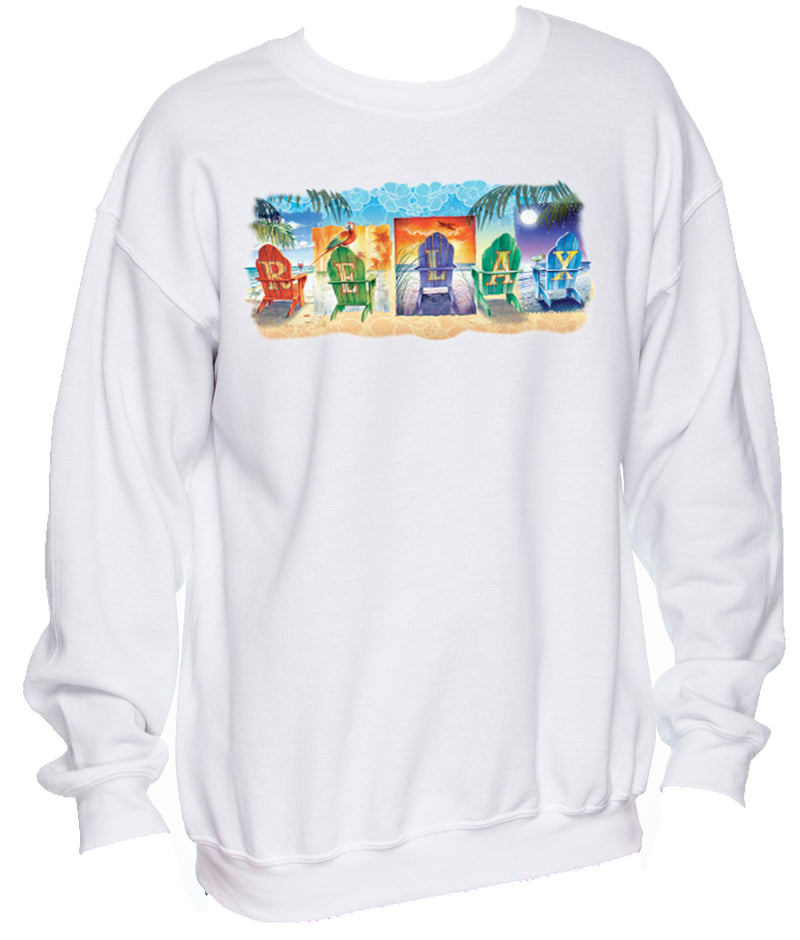 Relax by the Beach Sweatshirt Pullover - Good Life Apparel