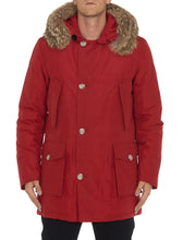 Load image into Gallery viewer, Woolrich Laminated Cotton Parka Hc-Jacket-Woolrich-M-RED-Classic fashion CF13