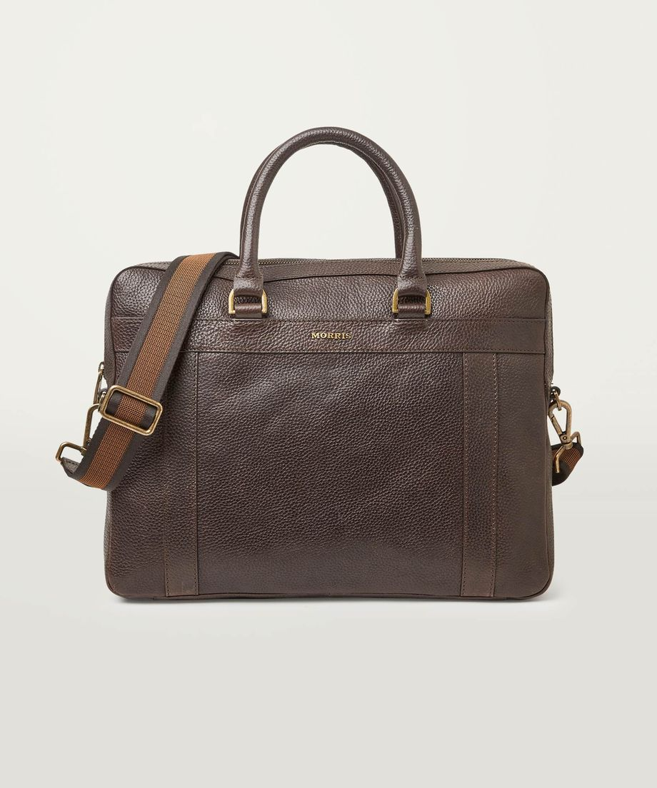 Barcley Laptop Bag 89 Brown - Morris Stockholm