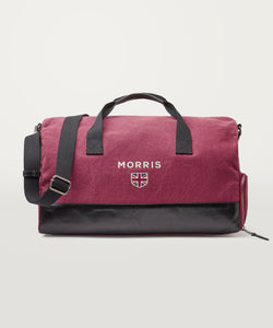 Miller Weekend Bag Wine Red - Morris Stockholm