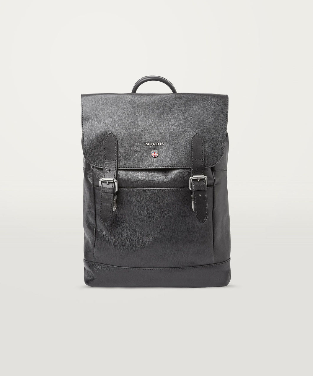 Brydon Leather Backpack Black - Morris Stockholm