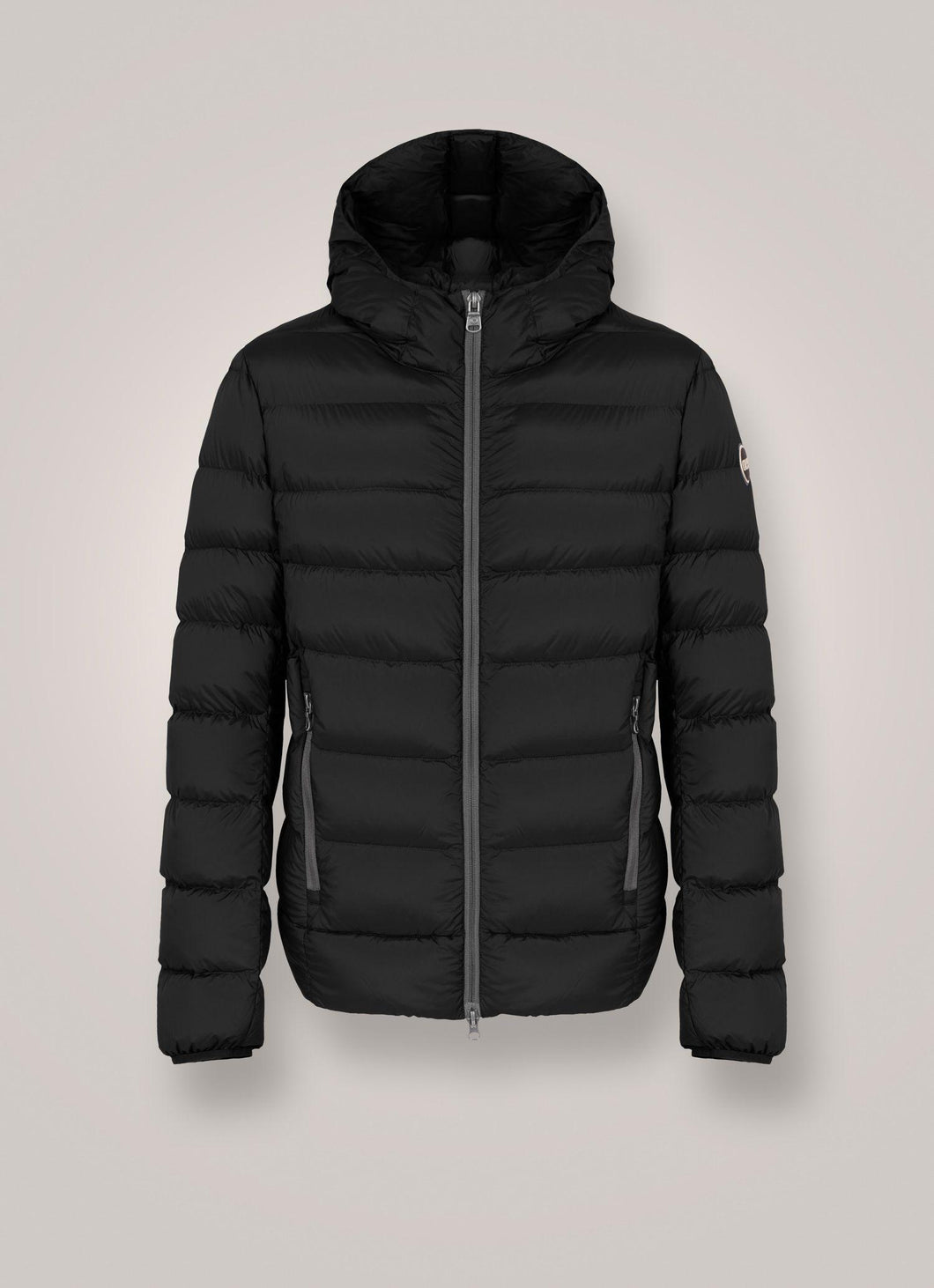 Colmar Strech Down Jacket With Fixed Hood-Jacket-Colmar-XS-Black-Classic fashion CF13