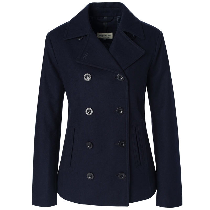 Berkeley W's Yale Pea Coat