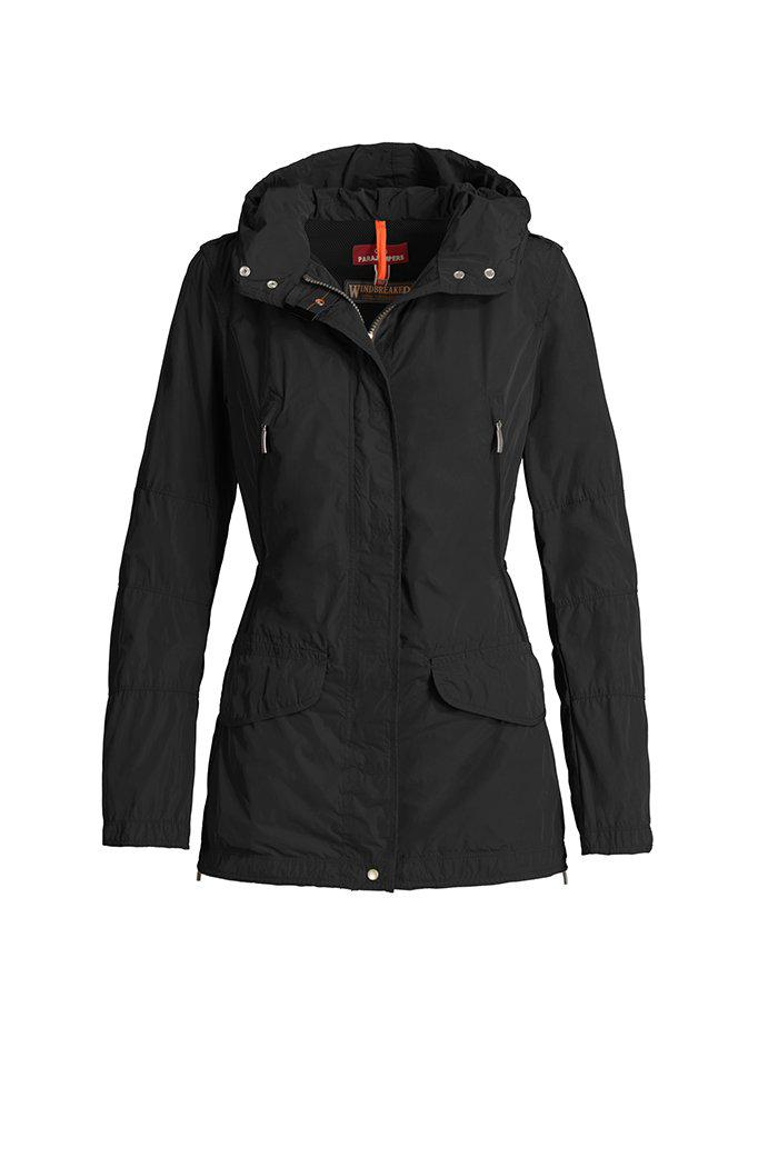 Parajumpers WINDBREAKER MARY TODD-Jackets-Parajumpers-XXS-BLACK-Classic fashion CF13