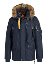Parajumpers Right Hand Eco-Jacket-Parajumpers-M-Navy-Classic fashion CF13