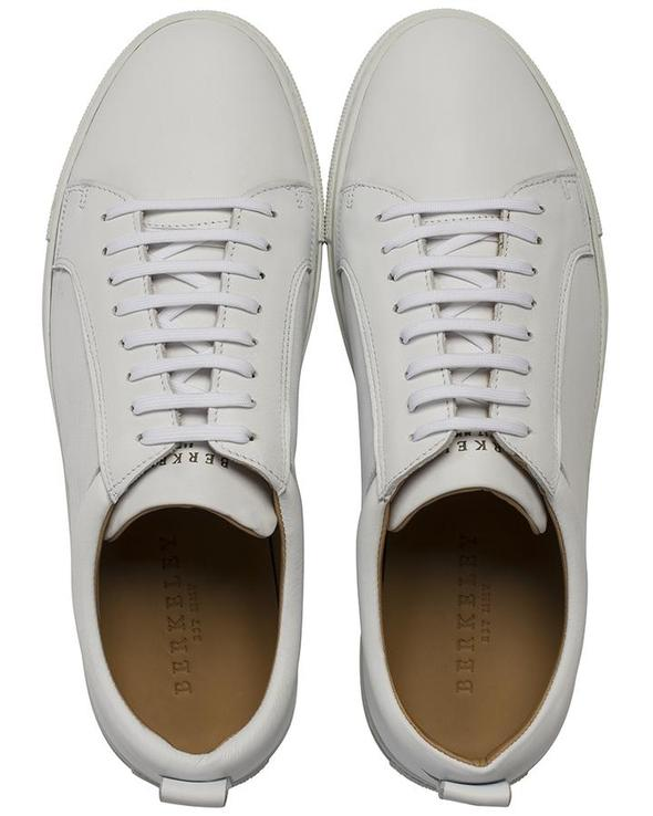 Berkeley Luigi Leather Sneakers white/black