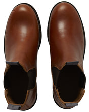Load image into Gallery viewer, Berkeley - W´s Chelsea Leather Boots Cognac