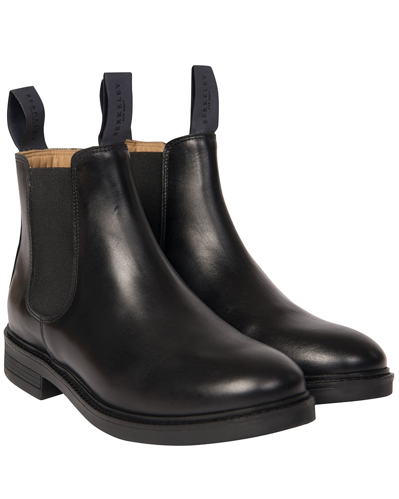 Berkeley - W´s Chelsea Leather Boots Black