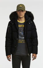 Moose Knuckles 3Q Men Jacket-Jackets-Classic fashion CF13-S-Black/Black fur-Classic fashion CF13
