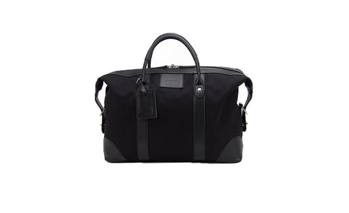 Baron Small Canvas Weekend Bag-Bags-Classic fashion CF13-Black-Classic fashion CF13