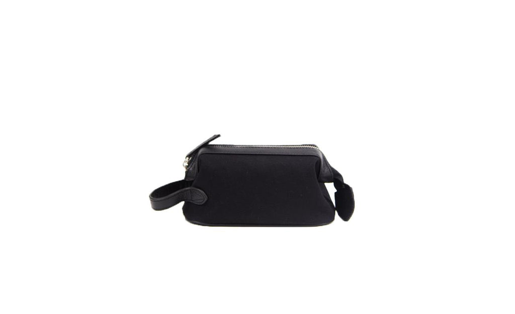 Baron Small Canvas Wash Bag-Bags-Classic fashion CF13-Black-Classic fashion CF13
