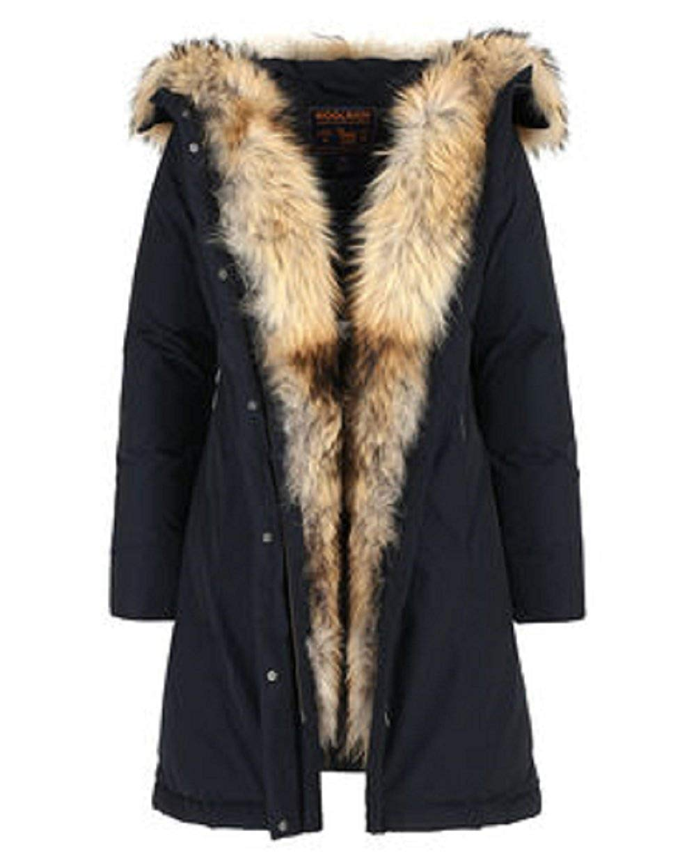 Woolrich Luxury Boulder coat-Jacket-Classic Fashion CF13-S-Navy Blue-Classic fashion CF13