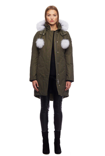 Moose Knuckles Stirling Parka Jacket-Jackets-Classic fashion CF13-XS-Olive-Classic fashion CF13