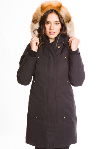 Moose Knuckles Fond Du Lac Parka Jacket-Jackets-Classic fashion CF13-XS-Black-Classic fashion CF13