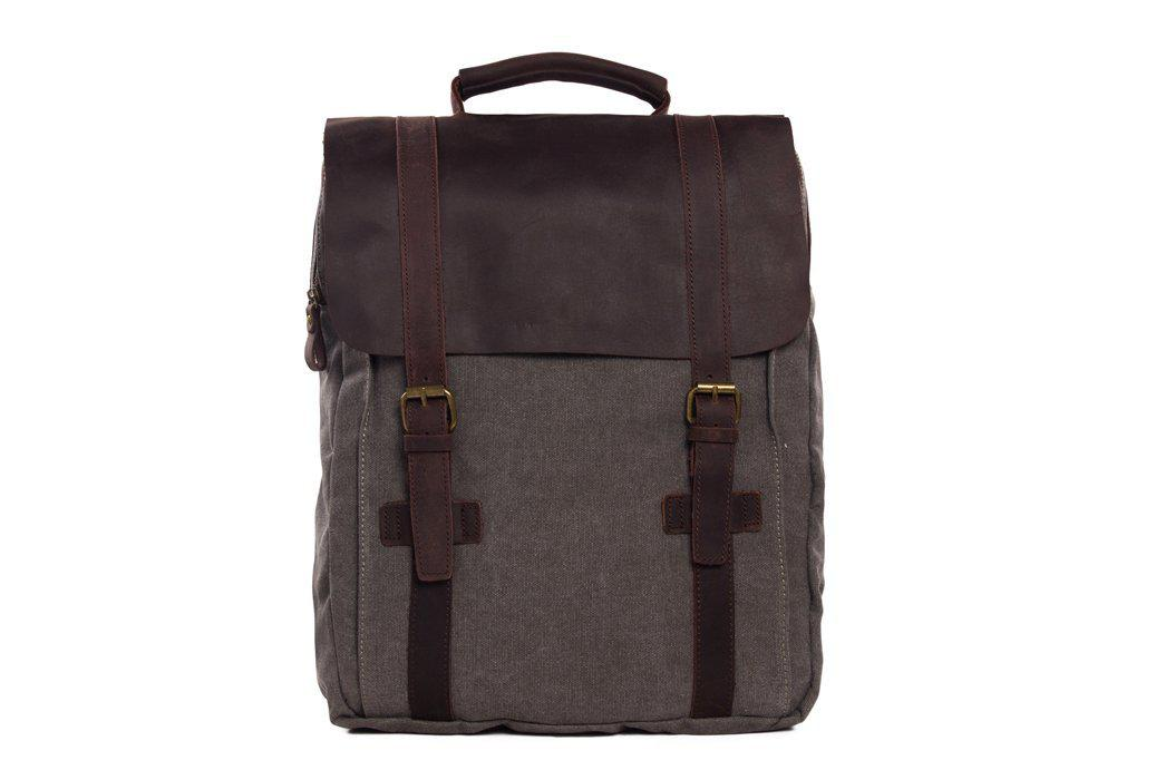 CF13 MOSHI HOT SALE CANVAS LEATHER BACKPACK-Bags-Classic Fashion CF13-Classic fashion CF13