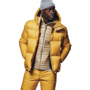 Cross|Sportswear - M Hoodie Down Jacket Mineral Yellow