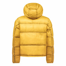 Load image into Gallery viewer, Cross|Sportswear - M Hoodie Down Jacket Mineral Yellow