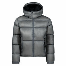 Load image into Gallery viewer, Cross|Sportswear - M Hoodie Down Jacket Steel Grey