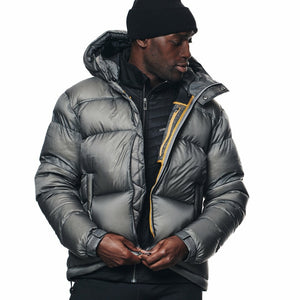 Cross|Sportswear - M Hoodie Down Jacket Steel Grey