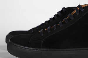 Human Scales Lee Mid Suede Black