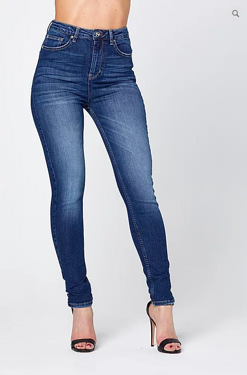 O-HIGH' HIGHWAIST JEANS