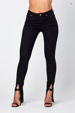 Load image into Gallery viewer, O-KALI' SKINNY SLIT JEANS