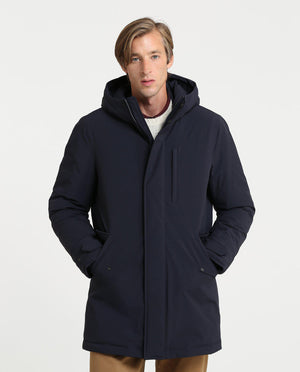 Woolrich Stretch Military Parka-Jacket-Woolrich-S-Classic Navy-Classic fashion CF13