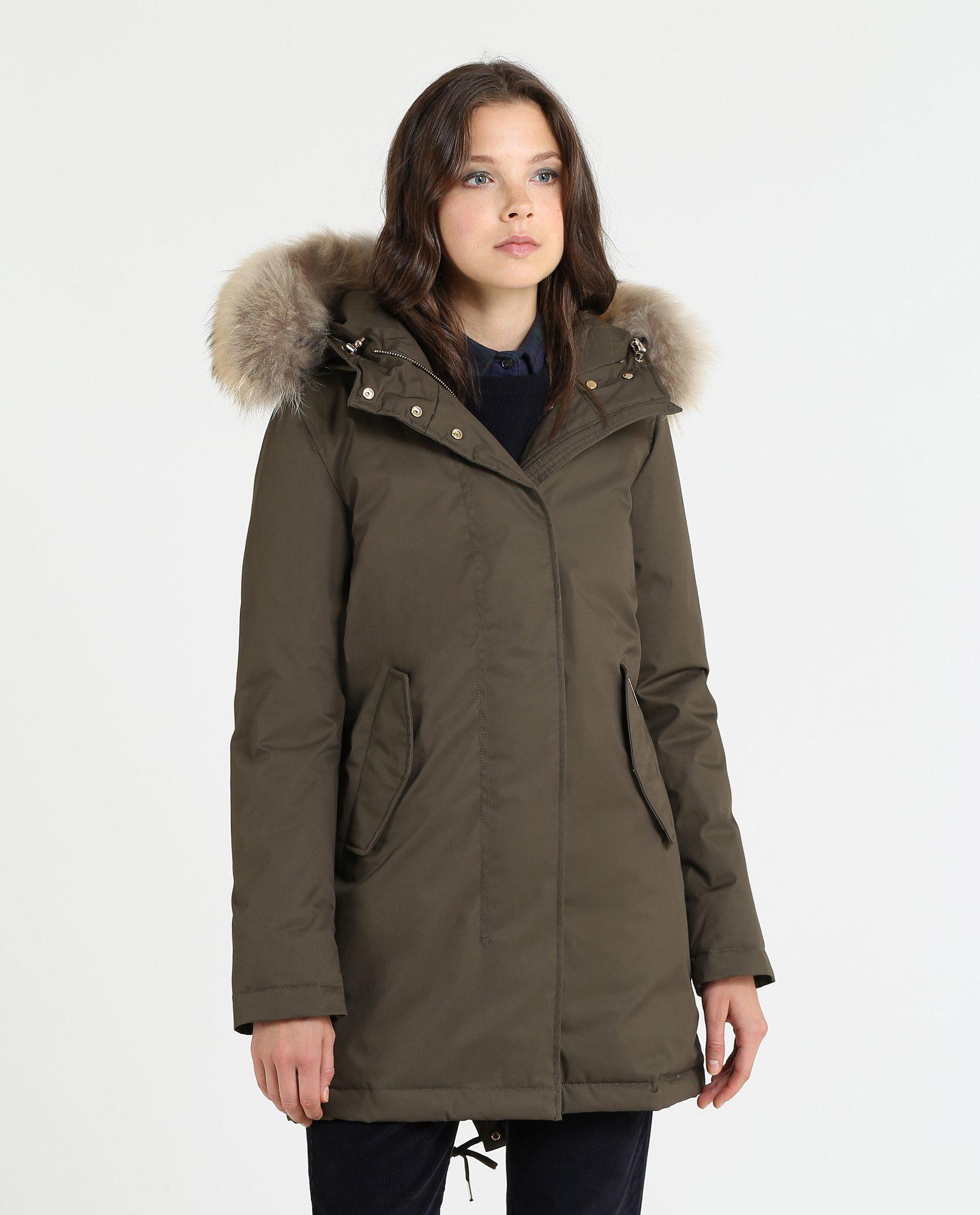 Woolrich Tiffany Parka-Jacket-Woolrich-XS-MILITARY-Classic fashion CF13
