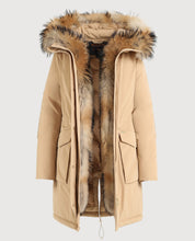 Load image into Gallery viewer, Woolrich W'S Military Parka-Jacket-Woolrich-S-Camel-Classic fashion CF13