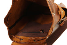 Load image into Gallery viewer, CF13 MEDIUM SIZE HANDMADE LEATHER BACKPACK-Bags-Classic Fashion CF13-Classic fashion CF13