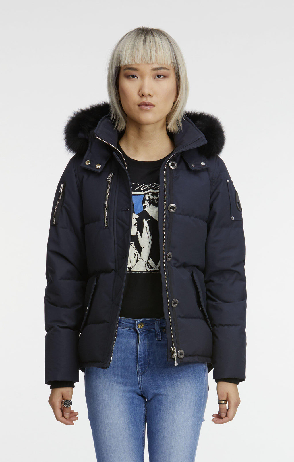 Moose Knuckles 3Q Jacket-Jackets-Classic fashion CF13-XS-Navy-Classic fashion CF13