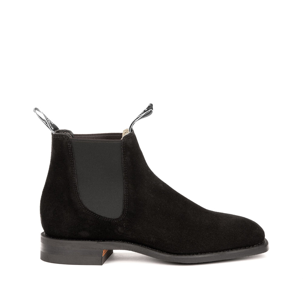 R.M. WILLIAMS - BLAXLAND G-LAST SUEDE BLACK