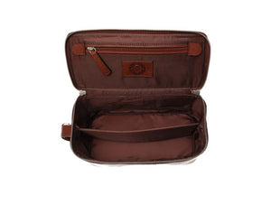 Saddler Barolo Wash Bag-Classic fashion CF13-Classic fashion CF13