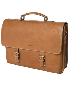 Berkeley Cowentry Briefcase-Bags-Classic fashion CF13-Brown-Classic fashion CF13