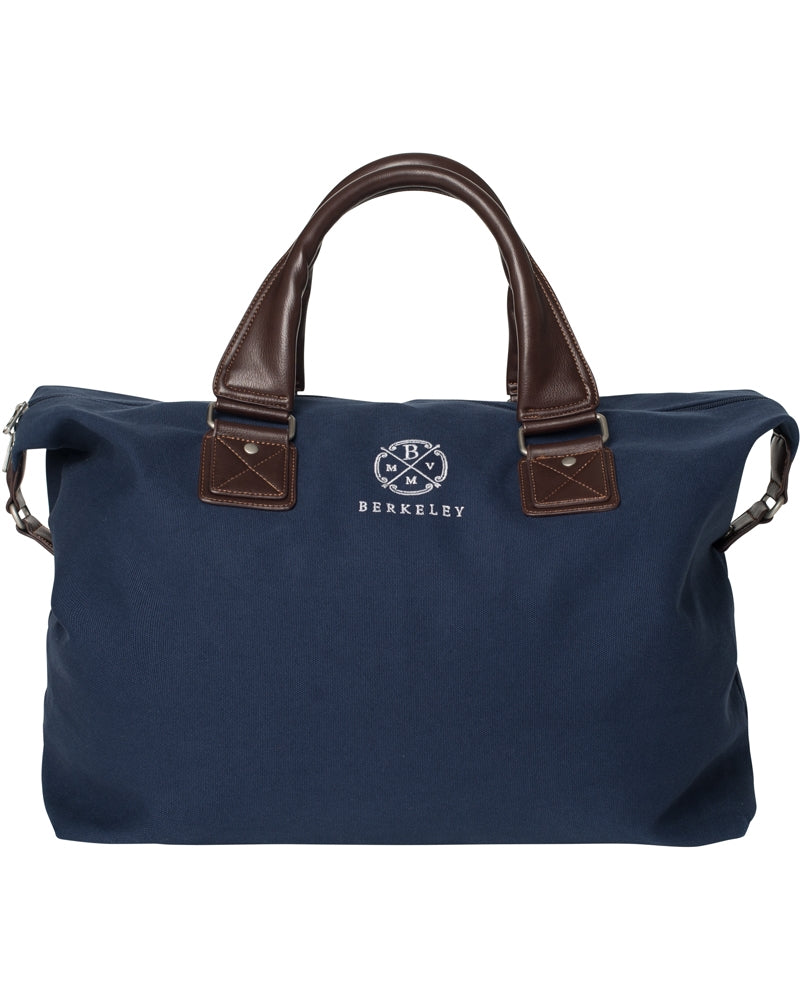 Berkeley Canvas Carver Bag-Bags-Classic fashion CF13-Navy-Classic fashion CF13