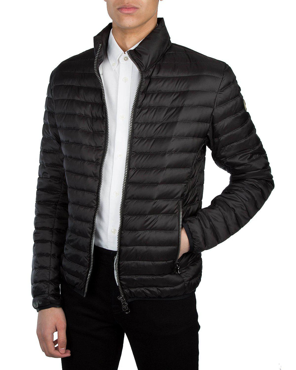 COLMAR Light Mens Down Jacket-Jackets-Colmar-s-Black-Classic fashion CF13