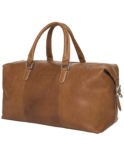 Berkeley Cowentry Overnighter Bag-Bags-Classic fashion CF13-Brown-Classic fashion CF13
