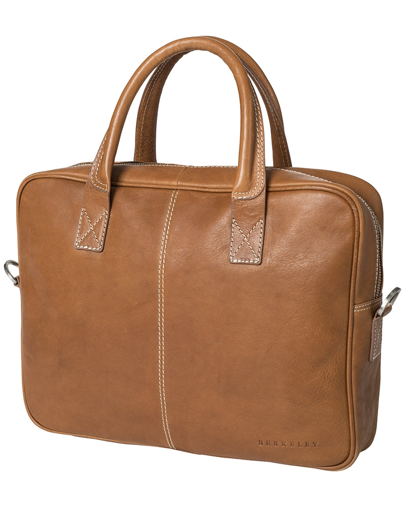 Berkeley Cowentry Computer Bag-Bags-Classic fashion CF13-Brown-Classic fashion CF13