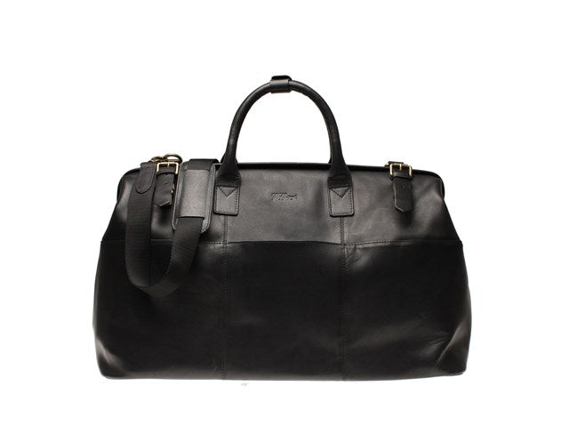 Oscar Jacobson Weekend Bag-Bags-Classic fashion CF13-Black-Classic fashion CF13