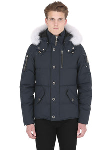 Moose Knuckles 3Q Men Jacket-Jackets-Classic fashion CF13-S-Grey/White fur-Classic fashion CF13