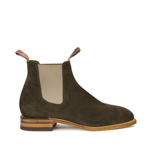 R.M. WILLIAMS - CRAFTSMAN G-LAST SUEDE Z-SOLE BON ELASTIC KHAKI