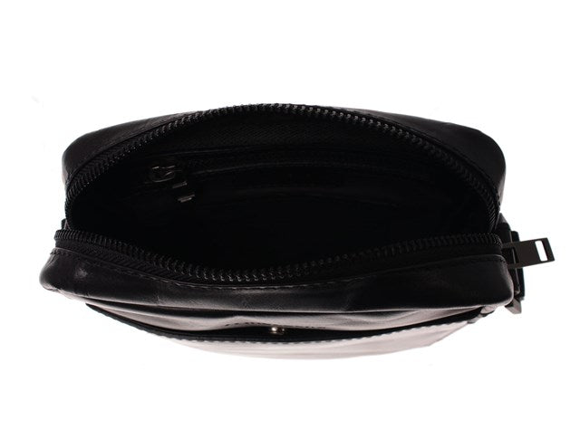 J. Lindeberg Small Messenger Male Bag-Bags-Classic fashion CF13-Black-Classic fashion CF13