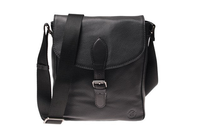 Saddler Nevada Small Male Messenger Bag-Bags-Classic fashion CF13-Black-Classic fashion CF13